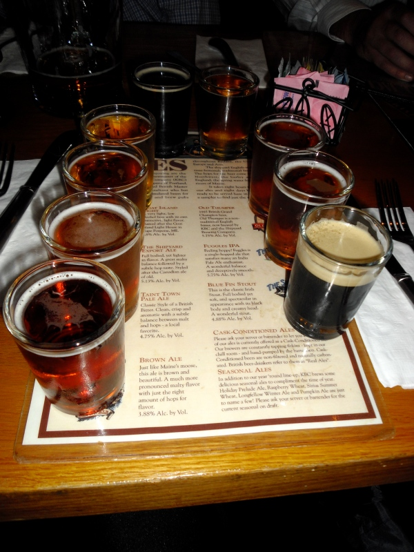 """The Sampler"" Shipyard Brewery/Federal Jack's"