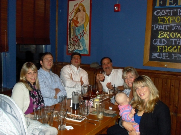 Big Dave and Lisa's 30th Anniversary in Kennebunkport @ Federal Jack's