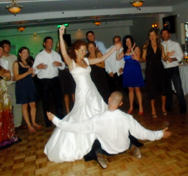 If those moves are any indication of the wedding night...